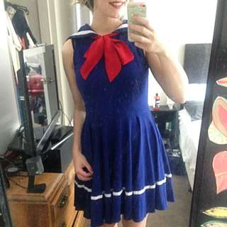 Gorgeous Sailor Dress
