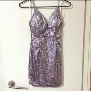 Showpo Sequin Mini Dress