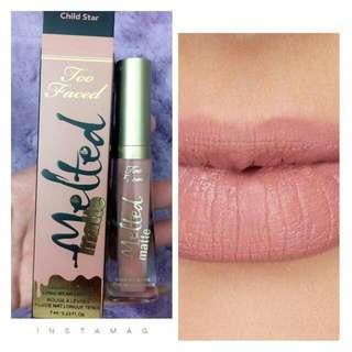 Melted Matte Lipstick (Child Star)