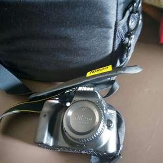 Di Jual Cepat Nikon D3300 bru 3 bulan. Jarang pakai