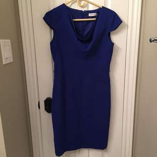 Calvin Klein Blue Dress