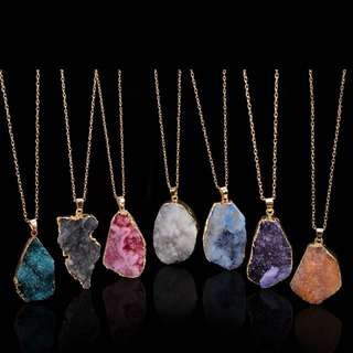 Jewels Quartz Necklace