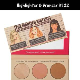 Highlighter Bronzer Palette