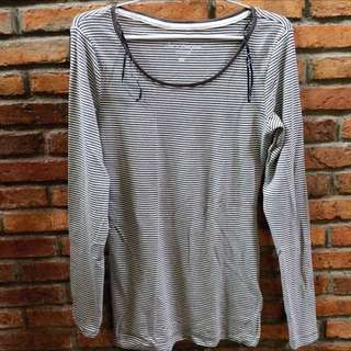 H&M L.O.G.G Long Sleeves Striped Tee