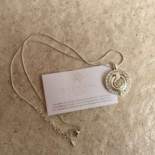 Silver And Swarovski Crystal Necklace