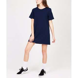 General pants co boyfriend t-shirt dress navy