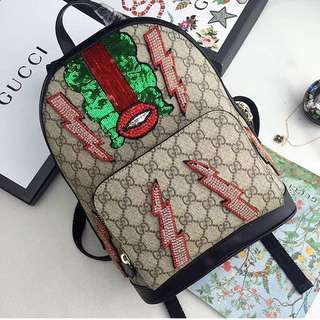 Gucci Backpack Original Leather