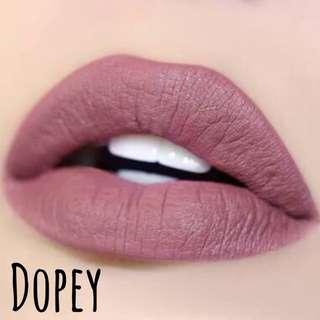 Authentic Colourpop Dopey Onhand