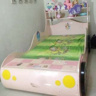 Kid Princess Car Bed