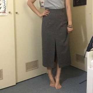 Classy Vintage Long Skirt
