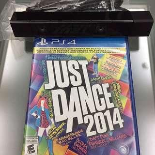 PS4 Camera+JUST DANCE 2014