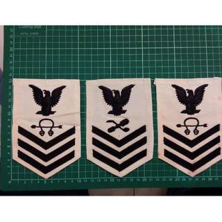 US Navy Rank Patch