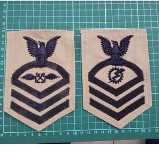 US Navy Military Rank Patch