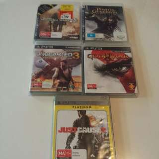 Ps3 Games Make An Offer Great Condition