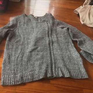 GAP Wool Zip Up Jacket