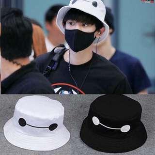 c84ba686d49  PO  Ulzzang baymax bucket hat