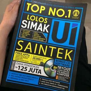 Top No 1 Lolos Simak UI