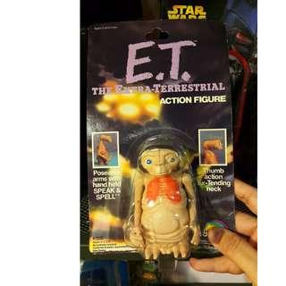 ET E.T. 老玩具 擺設 可動