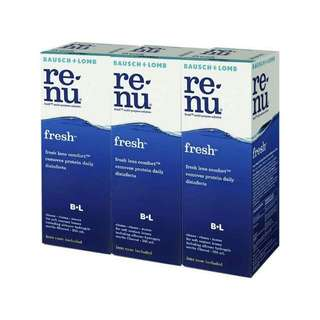 Contact Lenses Solution (RENU)