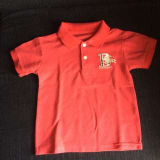 Burberry Kids Model Polo