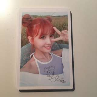 TWICE Limited Edition Photocard - Momo Ver