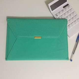Mint iPad Clutch