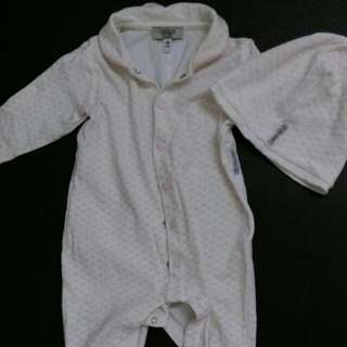 ARMANI二手嬰兒連身裝(含帽)