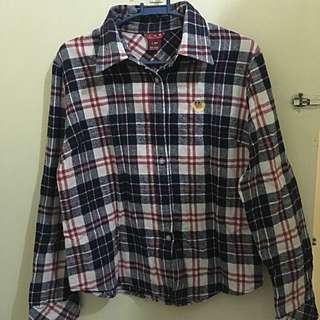 Pre-loved Checkered Long Sleeve