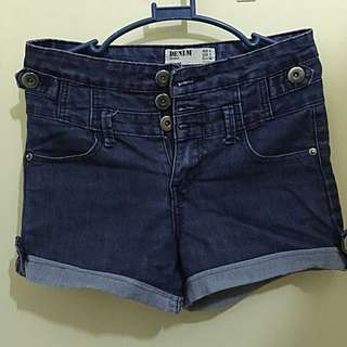 Pre-loved Cotton On High Waist Denim Short