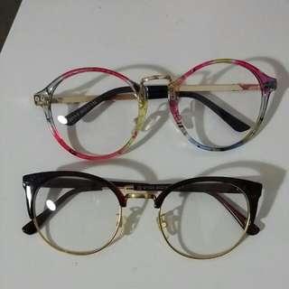 Retro Novelty Glasses Frames Tortoise Vintage