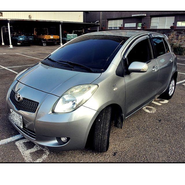 2008年 TOYOTA YARIS 1.5 銀色 (20萬km)僅35.8萬 PS 老闆不要車 只要錢!!