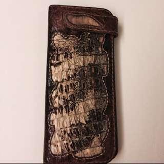 🚚 手工鱷魚長夾(原價2萬五)