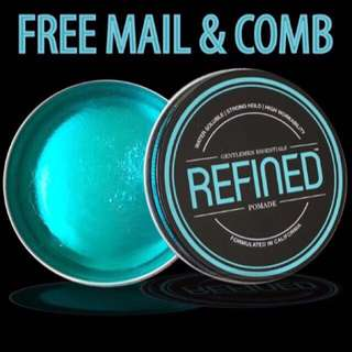 [CNY 15% OFF] INSTOCKS REFINED Supply Pomade Men FREE MAIL FREE COMB