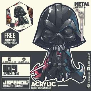 #109 Star Wars Darth Vader Keychain by Jrpencil