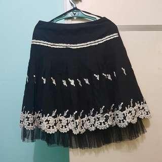 Casual Elegance A-Line Skirt