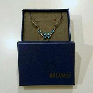 Mumu 水藍色手鍊