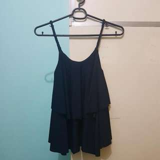 Knotted-Strap Top