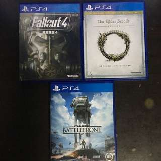 3 Playstation 4 (PS4) Games FAST DEAL