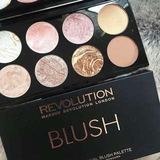 Golden Sugar Ultra Blush Palette By Makeup Revolution
