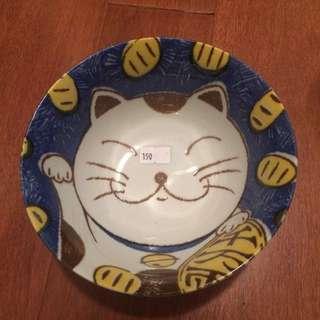 餐桌上的鹿早 日本製湯碗
