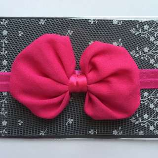 Baby Girl Headband Knot Bow