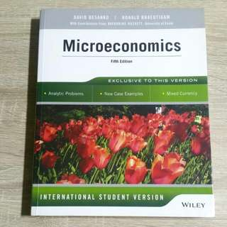 [RESERVED] Microeconomics 5th Edition BSP1005 EC2101