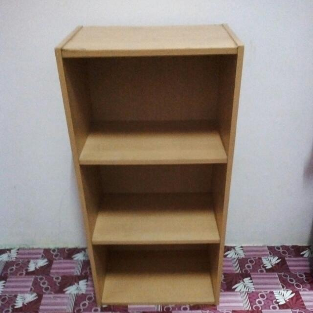 3 Level Bookshelf Home Furniture On Carousell