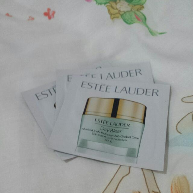 3x Estee Lauder Daywear Spf 15 Samples (Free With Purchase)