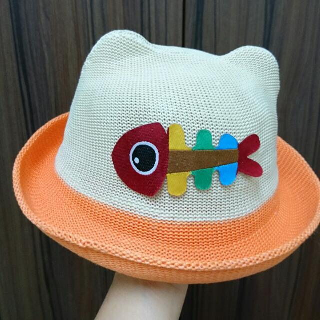 幼童帥氣編織帽(男女適用)