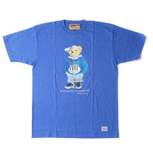 [從日本樂天買需等待] interbreed polo bear tee 熊T