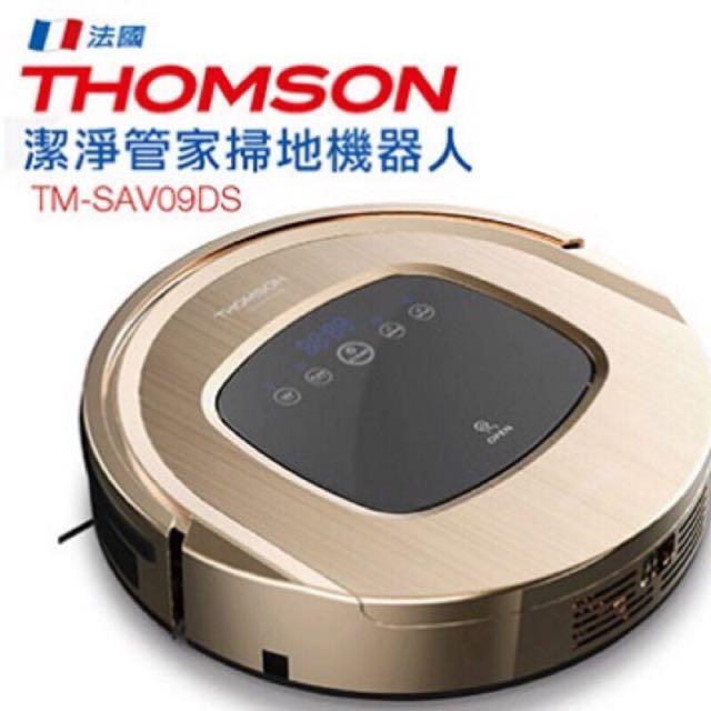 法國 THOMSON 掃擦吸拖UV 掃地機器人 TM-SAV09DS 沒電自動回充