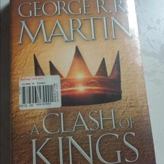 A Clash Of Kings - Game Of Thrones