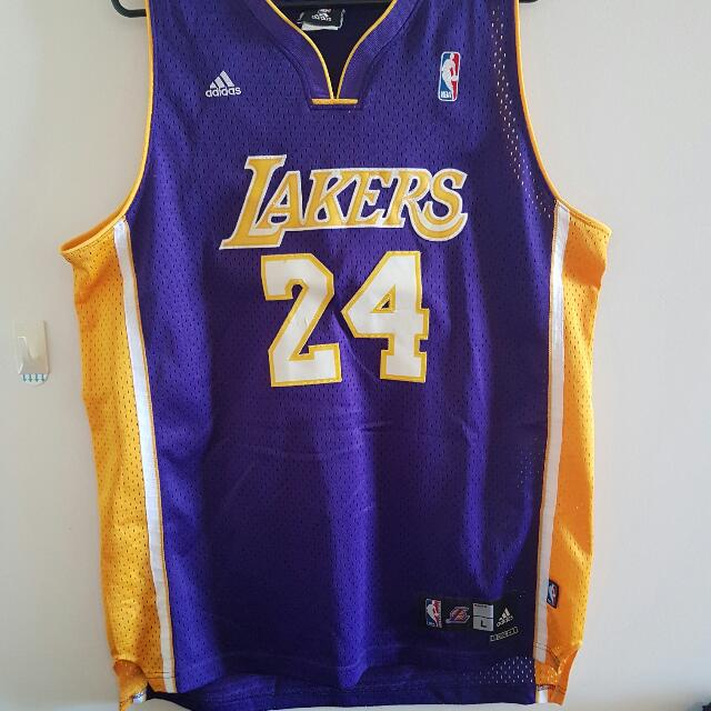 new concept 20329 8be59 Adidas NBA LA Lakers Kobe Bryant Jersey, Men's Fashion on ...