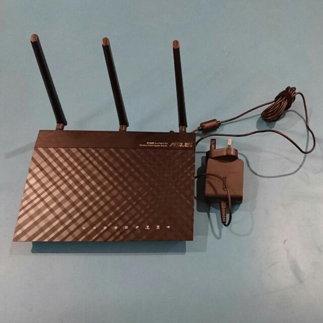 ASUS RT-N66U dual-band wireless-N900 gigabit router, Electronics ...